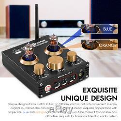 Hifi Vide Tube Preamp Bluetooth 5.0 Récepteur Audio Usb Dac Casque Amp Aptx