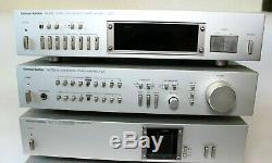 Hk775x2 Harmon Kardon Hk775 Double Ampère Mono Dc, Hk725 Pre Amp Et Hk715 Récepteur