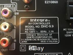 Integra (une Division Onkyo) Dhc-9.9 (b) Contrôleur Av Récepteur Audio Mint
