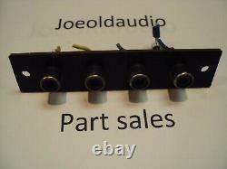 Kenwood Amplificateur Modèle # Ka 2002 Rca Preamp Panel. Testé Parting Out Ka 2002
