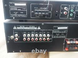 Kenwood Ka-89 Stereo Control Pre Amplificateur & Kt-59 Stereo Tuner