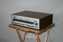 Kenwood Trio Kr-2600 Vintage Récepteur Stéréo Salut-fi Amplificateur Séparée Japan