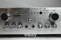 Ltc Atm2000usb-bt Hifi-récepteur Stéréo-verstärker Mit Usb-mp3 / Sd Bluetooth