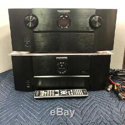 Marantz Mm7055 5 Canaux D'amplificateur De Puissance Et Av7701 Tuner / Préamplificateur