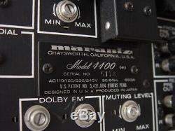 Marantz Modèle 4400 Récepteur Stéréo