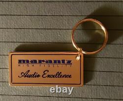 Marantz Rare Récepteur Amplificateur De Porte-clés Promotionnel Preamp