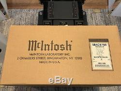 Mcintosh Mac6700 Stéréo Intégré Amplificateur / 1 Propriétaire Du Commerce Receveur En