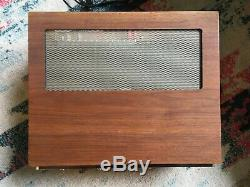 Mcintosh Vintage Ma6100 Intégré Préampli Amplificateur Bois Cabinet Ma6100