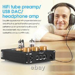 Mini Tube À Vide Bluetooth Préamplificateur D'écoute Usb Dac Aptx-hd