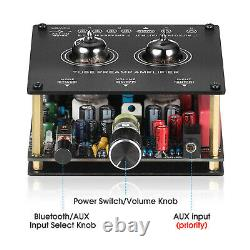 Mini Vacuum Tube Amplificateur Bluetooth Récepteur Hifi Tube Preamp Desktop Audio Amp