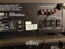 Mitsubishi M-a6351 Stereo Amplificateur Hte-5400 Et Tuner Radio Préamplificateur