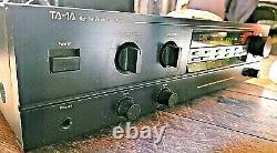 Nakamichi Ta-1a Amplificateur Récepteur Stéréo Haute Définition Phono Preamp Serviced