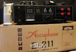 New Golden Accuphase E-211 Made In Japan Stéréo Intégré Amplificateur Récepteur