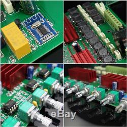 Nobsound 5.1 Canaux Amplificateur De Puissance Bluetooth 5.0 Home Cinéma Récepteur Audio
