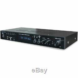 Nouveau Technical Pro 1200 Watt Accueil Récepteur Stéréo Amplificateur Intégré Amp Usb / Sd