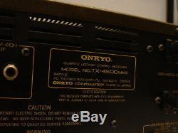 Onkyo Tx-modèle 4500 Mkii Récepteur Stéréo