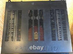 Parasound A23 Amplificateur Stéréo Et P5 Préampli