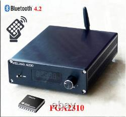 Pga2310 Bluetooth 4.2 Récepteur Audio Hifi Pré-amplificateur Préampli Télécommande