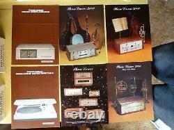 Phase Linéaire Des Catalogues Publicitaires Audio Amplificateur, Récepteur, Préampli, Tuners