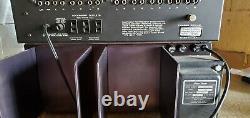 Phase Linear Model 400 Amplificateur & Modèle 2000 Pré-amplificateur Avec Poignées Rack