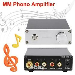 Phono MM Record Player Amplificateur Turntable Preamplifier Hifi Preamp Receiver Rca