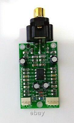Phono Pre Amplificateur Riaa Salut Qualité Faible Bruit Pour Les Récepteurs, Intégré, Etc