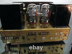 Pilote Modèle Hf56 Mono Am Fm Récepteur Kt66 6l6 Tube Preamp Amplificateur