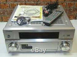 Pioneer Vsx-ax4avi Hdmi Dolby Surround 7.1 Récepteur Amplificateur + À Distance Manuel