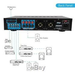 Pwma1003bt Bluetooth Amplificateur Récepteur Et Système De Microphone Hybride Pré-amplificateur