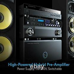 Pyle Bluetooth Hybrid Amplificateur Récepteur Home Theater Pré-amplificateur Avec