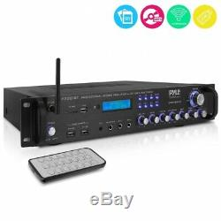 Pyle P2001bt Multi-canaux Bluetooth Préamplificateur Récepteur, Audio Pro 2000 Watt