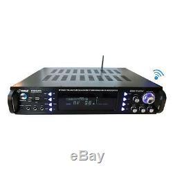 Pyle P2203abtu Bluetooth Hybride Pré-amplificateur, Home Cinéma Ampli Stéréo Récepteur