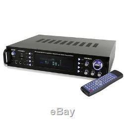 Pyle P2203abtu Bluetooth Hybride Pré-amplificateur Home Cinéma Stéréo 2000w Récepteur