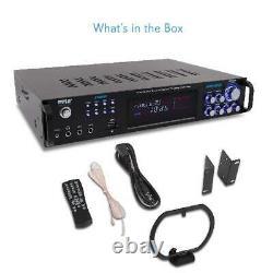 Pyle P3001bt Bluetooth Hybride Amplificateur Récepteur De Cinéma Maison Pré-amplificateur
