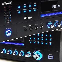 Pyle Pd1000a 1000 Watt Am-fm Avec Récepteur Intégré DVD / Mp3 / Usb
