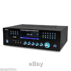 Pyle Pd1000a 1000 Watts Récepteur Am-fm Avec Lecteur DVD Intégré Nouveau