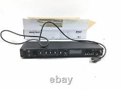 Pyle Rack Mount Studio Pre-amplificateur Système De Récepteur Audio Avecdigital LCD Displ