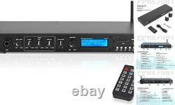 Rack Mount Studio Pre-amplificateur Système De Récepteur Audio Avec Écran LCD Numérique