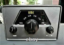 Rare Rme Rf Jambon 3 Tubes Vintage Pré Amplificateur