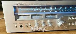 Rare Vintage Rotel Rx-404 Amplificateur Stéréo Récepteur Amplificateur Intégré Hi-fi Séparée