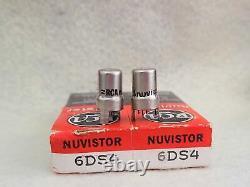 Rca 6ds4 Nuvistornos Tube Amplifier X2 Triode Radio Microphone Preume De Réception De La Microphone