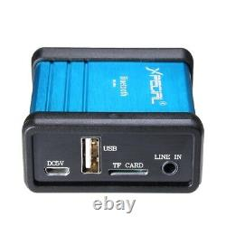 Récepteur Audio Bluetooth Sans Fil Décodant L'amplificateur Préampli De Boîte Avec L'isola De Puissance