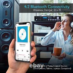 Récepteur D'amplificateur Hybride Pyle Bluetooth Home Theater Pré-amplificateur Avec