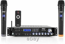Récepteur Pré-amplificateur Hybride Multicanal Pyle Bluetooth, 3000w (pwma400bt)