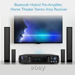 Récepteur Stéréo Pyle Bluetooth Hybrid Pre Amp Amp Amp Amp Home Theater