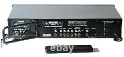 Rotel Rb 981 Power Amplificateur & Rotel Tuner Récepteur Preamp & Remote Work Great