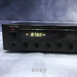 Rotel Rtc-950ax Rare De Travail De Pré-amplificateur De Tuner Stéréo