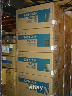 S / N0030150 Tascam Pa-r100 Réseau Av 5.2 3d / 4k Récepteur / Préamplificateur -new