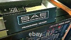 Sae Stereo Amplificateur, Préampli, Tuner, Égaliseur, Récepteur Signaire Original Xxrare