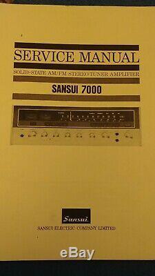 Sansui 7000 Box Impressionnant